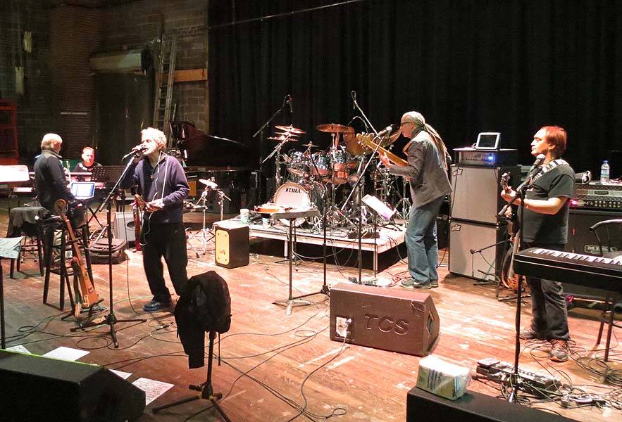 Anderson Ponty Band Rehearsal 1