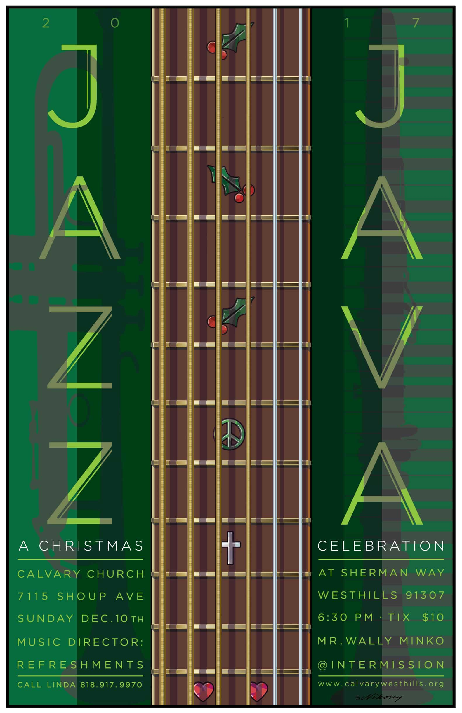 Jingle Bell Java and Jazz 2017 Poster